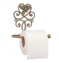 Toilettenpapierhalter mit Blume