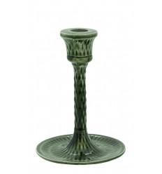 Retro Kerzenständer grün