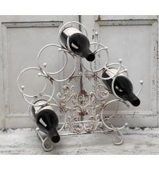 Chic Antique Weinständer mit Ornamenten