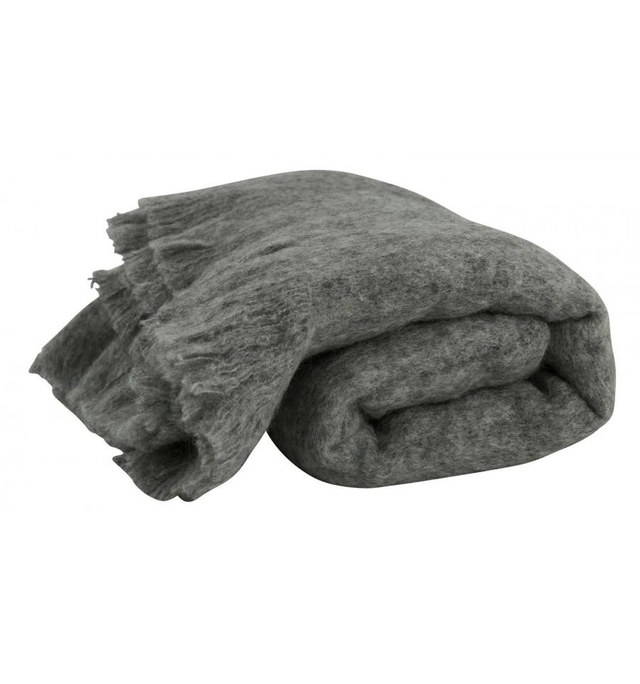 wohn kuscheldecke in grau tagesdecken plaids. Black Bedroom Furniture Sets. Home Design Ideas