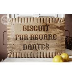 Biscuit-Form geschnitztes Schneidebrett