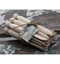 Wäscheklammern Set aus Holz