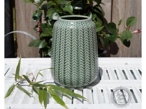 Vase 'Jungle' in grün