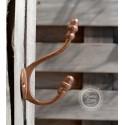 Doppelhaken 'Vintage' in Kupfer-Look