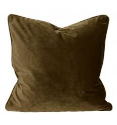 Samt Kissenbezug bronze 066