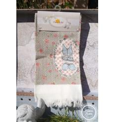 Handtuch 'Rosen'