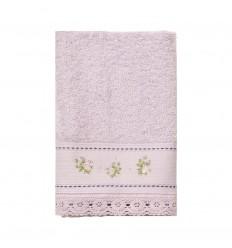 Handtuch 'Shabby Roses' rosa