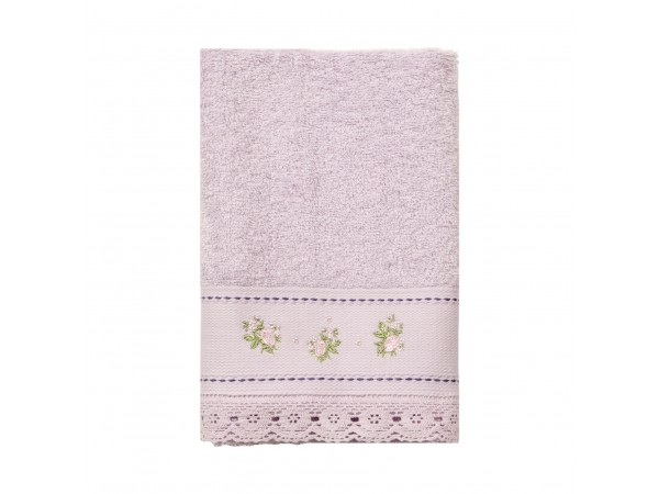 Handtuch 'Shabby Roses rosa'