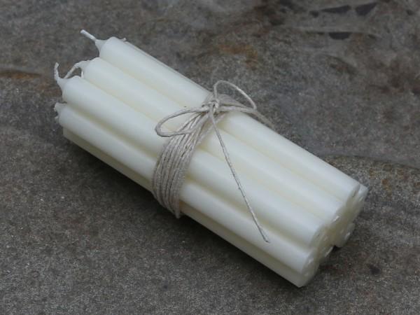 Mini Stabkerzen 10er Set perle