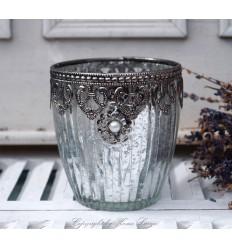 Teelichthalter 'Perla'