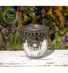 Teelichthalter /Kerzenglas 'Perla' klein