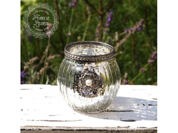 Teelichthalter 'Blume'