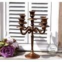 Kerzenständer in Kupfer-Look