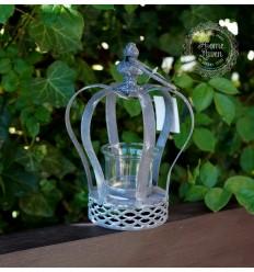 Teelichthalter 'Krone'