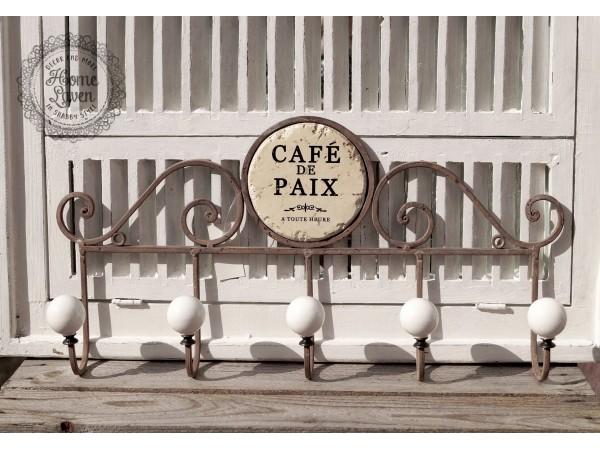 Hakenleiste  'Cafe Paix'