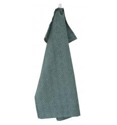 Küchentuch 'Scandic' grün-grau