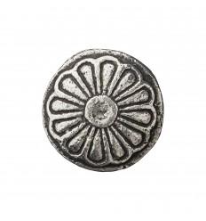 Möbelgriff 'Nobilia' antik silber