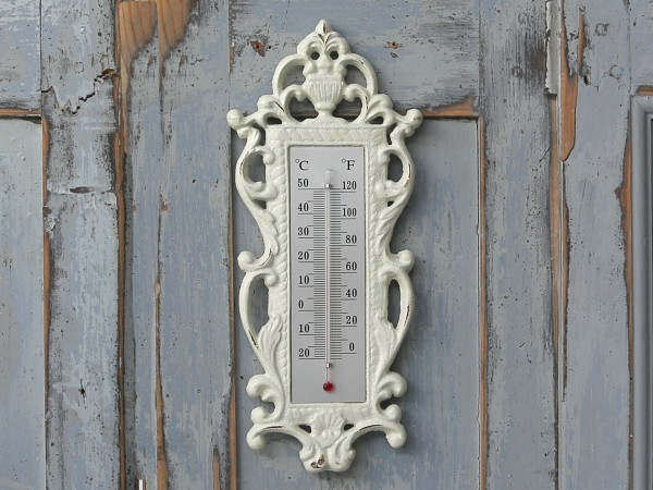 Thermometer in Shabby Stil