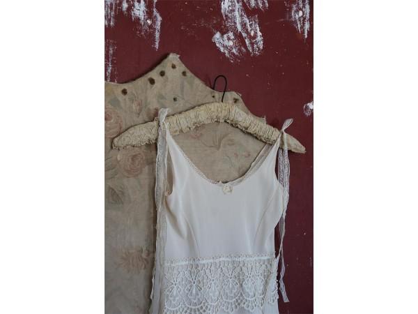 Deko Kleiderbügel mit Spitze