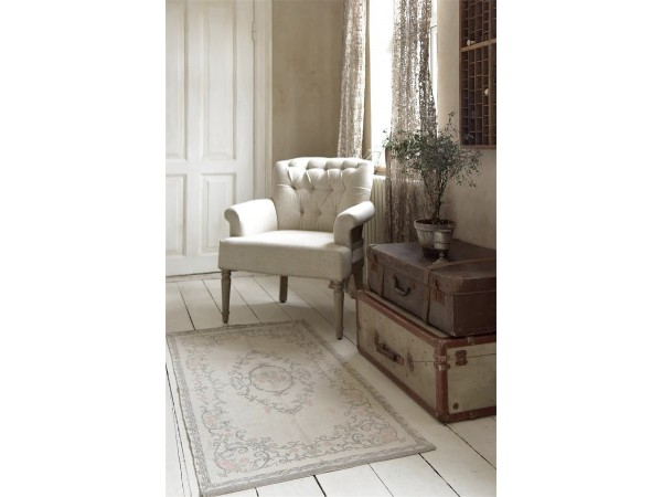 teppich 39 used look 39 70x140 rosa grau teppiche. Black Bedroom Furniture Sets. Home Design Ideas