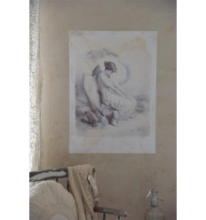 Poster 'Fallen Angel' 50 x 70