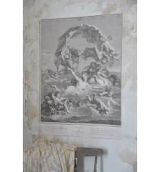 Poster 'Venus sur Les Eaux' 50x70