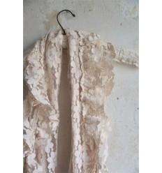 Schal, Tuch antik beige-rosa