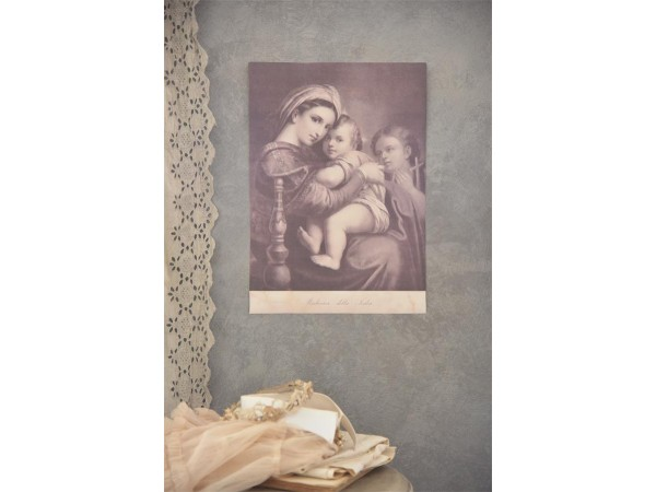 Poster 'Madonna and child' 29,5 x 42