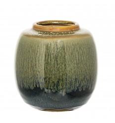 Vase grün blau
