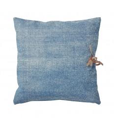 Kissen 'Jocelyn' indigo blue