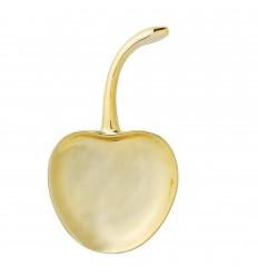 Tablett Schale 'Kirsche' Gold