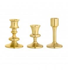 Kerzenständer Gold Retro