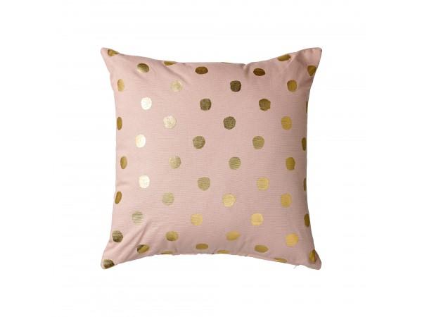 Kissen inkl. Füllung 'Golden Dots'