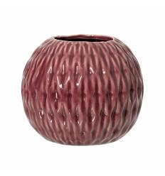 Vase rubinrot