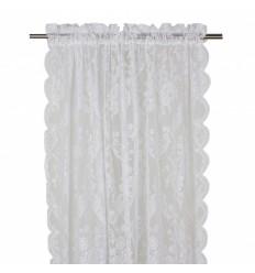 Vorhang / Gardine 'Rosanna' 2er Set weiß
