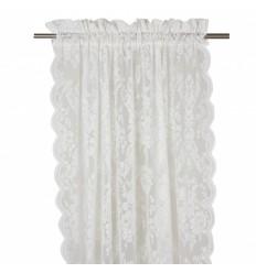 Vorhang / Gardine 'Rosanna' 2er Set ecru