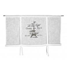 Raffrollo 'Eiffel' 160 x 120 grau (B-Ware)