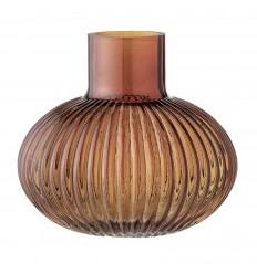 Vase braun-orange