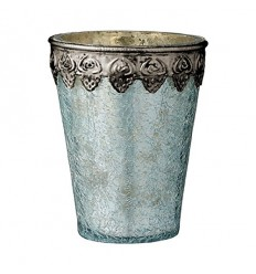 Teelichthalter 'Delilah' blau