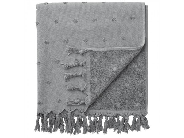Handtuch Badetuch 'Lauren' zement