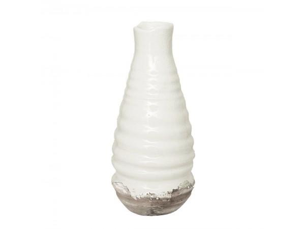 Vase 'Unna' off white