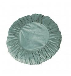 Kissenbezug 'Tilde' rund celadon-42