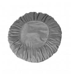 Kissenbezug 'Tilde' rund grau-85