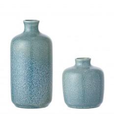Vasen 2er Set blau