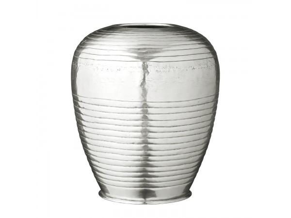 Vase 'Liana' silber