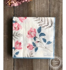 Papier-Servietten 'Magnolia'