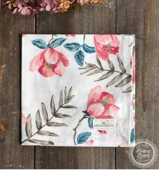 Stoffserviette 'Magnolia' pale pink