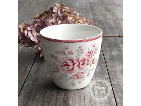 Greengate Latte Cup Becher 'Flora' vintage