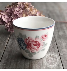 Greengate Latte Cup Becher 'Hailey' white