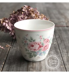 Greengate Latte Cup Becher 'Marley' white